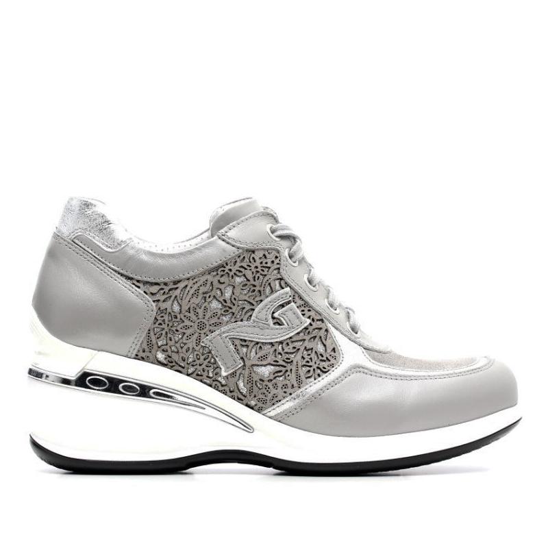 sneakers nero giardini grigio