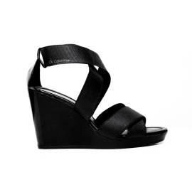 Calvin Klein sandalo elastico con zeppa Alta Art. N11074 BBK