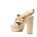 Luciano Barachini Woman Sandals Wedge Article 6042E Nude