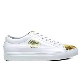 BLAUER 6SWOCUPTOE/LEA/ WHITE GOLD