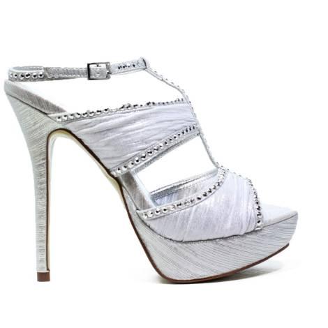 Ikaros Sandal Jewel Elegant Silver A2616Silve