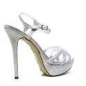 Ikaros Sandal Jewel Elegant Silver A2601Silv