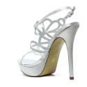 Ikaros Sandal Jewel Elegant Silver A2609Silv