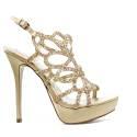 Ikaros Sandal Jewel Elegant Powder A2613Nude