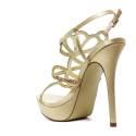 Ikaros Sandal Jewel Elegant Gold A2613Gold