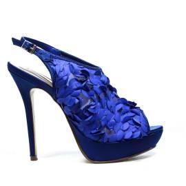 Ikaros Sandal Jewel Elegant Blue A2621Bluet
