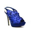 Ikaros Sandalo Gioiello Elegante A2621Bluet Blu