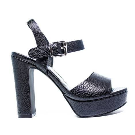 Luciano Barachini Woman Sandals Wedge Article 6043 A Black