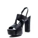Luciano Barachini Heel Sandal Women 6045 A Black