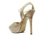 Ikaros Sandal Jewel Elegant Gold A2617Gold