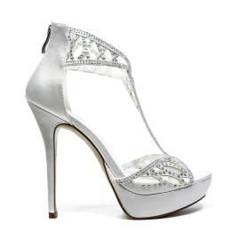 Ikaros Sandal Jewel Elegant A2604 White