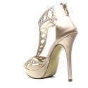 Ikaros Sandalo Gioiello Elegante A2604 Nude