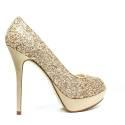 Ikaros Gun Jewel Decolletè A2610 Elegant Gold