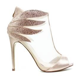 Ikaros Sandal Jewel Elegant Powder A2608 Nude