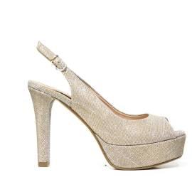 Bacta De Toi 452 940 Silver Sandal With Heel