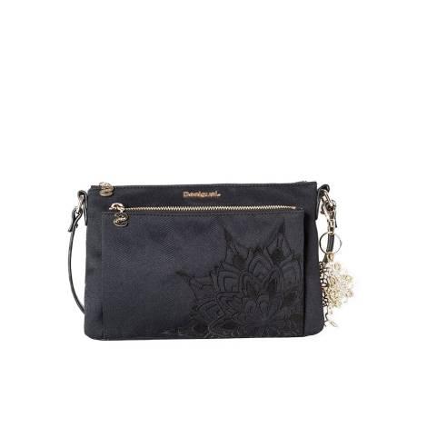 Desigual woman shoulder black bag 61X51D9/2000