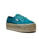Superga Sneaker Con Zeppa Alta Art. S 0099Z0 2790-CROTOPEW WQE Green Teal