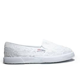 Superga Sneaker Bassa Ginnica Art. S 009V30 2210-MACRAMEW 901 White