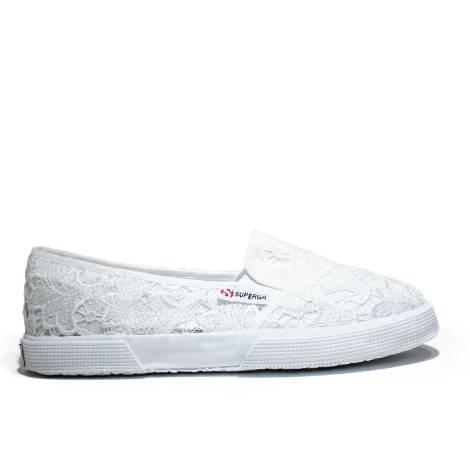 Superga Sneaker Low Ginnica Art. S 009V30 2210-MACRAMEW 901 White