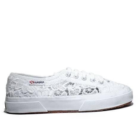 Superga Sneaker Low Ginnica Art. S 008YA0 2750-MACRAMEW 901 White