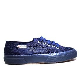 Superga Sneaker Bassa Ginnica Art. S 008YA0 2750-MACRAMEW 081 Blue Navy
