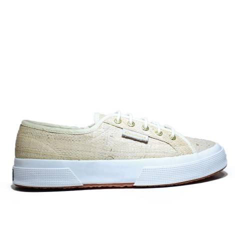 Superga Sneaker Low Ginnica Art. S 009HI0 2750-RAFFIAU 900 White