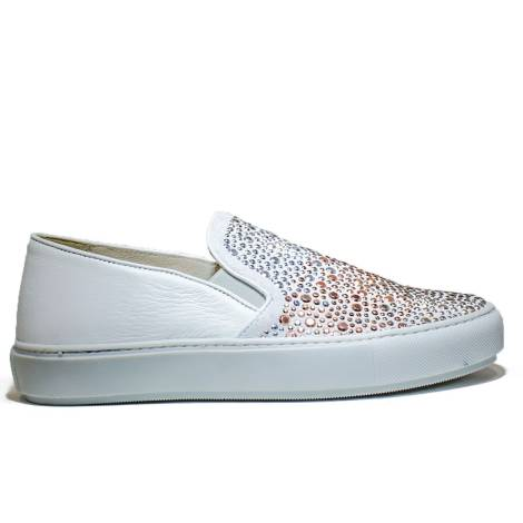 Janet Sport Sneakers Ginnica Bassa 37728 Scarpa Porto Maya Bianco
