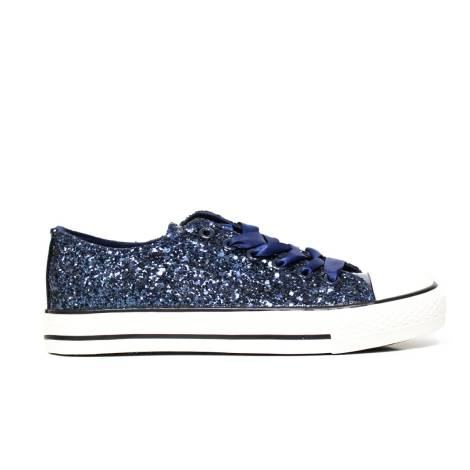 Sneaker Kharisma 9012 Glitter blu