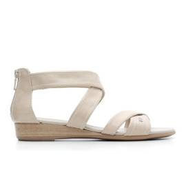 Nero Giardini Sandal Low Woman Leather Item P615560D 410 Sand
