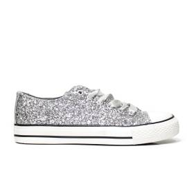 Sneaker Kharisma 9012 Glitter silver