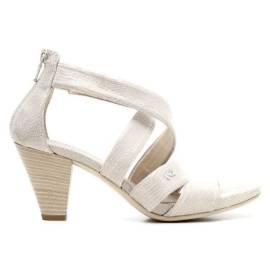 Nero Giardini Sandal Woman Heel Middle Leather Item P615552D 500 Savannah
