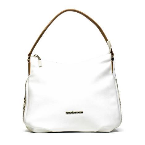 Roccobarocco borsa donna ROBS0GW03 bianco