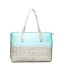 Roccobarocco woman bag RBBS0KH05 white turquoise