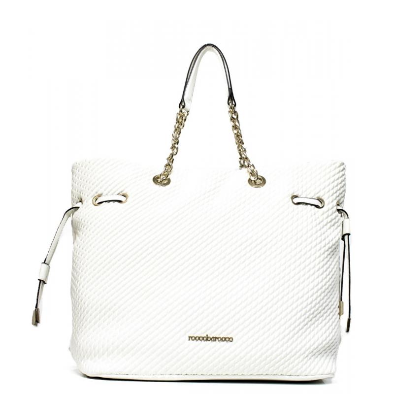grande liquidazione ottimi prezzi acquista per genuino Roccobarocco woman bag ROBS0L201 white